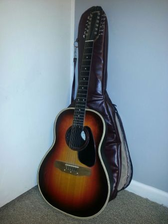 Applause 12-string guitar w bag - $100 (Lafayette)