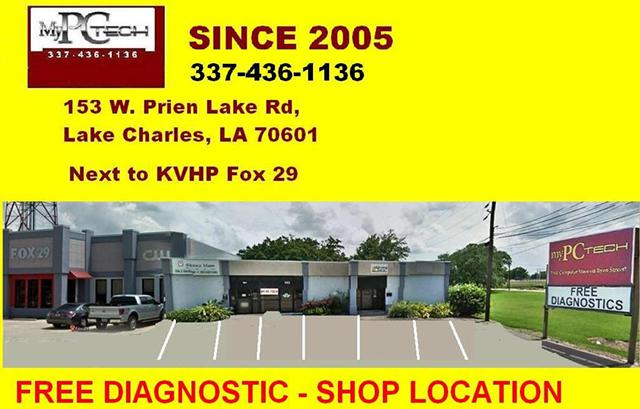 Computer Service and Repair- Free Diagnostic Shop Location ONLY