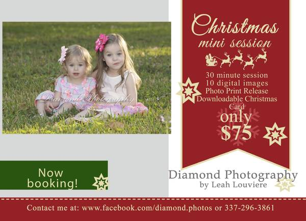 Mini Christmas Photography Session- 75  Youngsville
