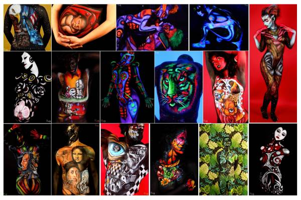 Body Paint  amp  Photo Package Specials  Acadiana