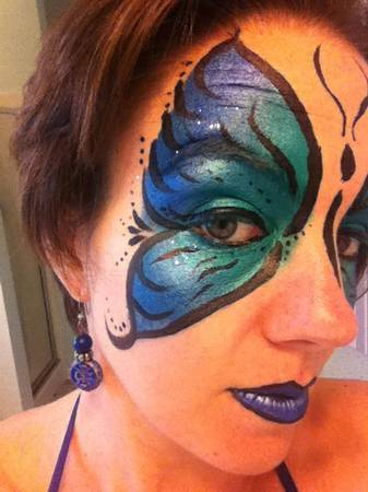 Face Body Painting (Baton Rouge Area)
