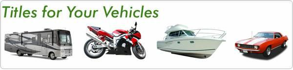 $350, Vehicle Titles Do you need a Car Boat or Motorcycle title call us now 786 601 - 7580