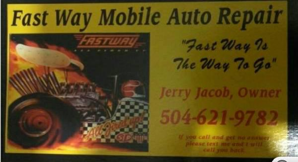 Fast Way Mobile Auto Repair