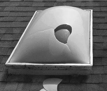 Cracked Skylight Top Replacements  Venterama Skylights  Roto Skylights 631-924-8677