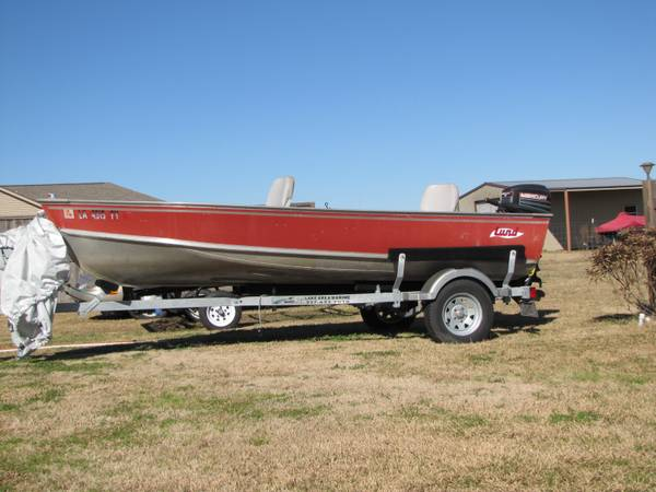 1984 14  Lund fishing boat -   x0024 3400  Iowa  LA