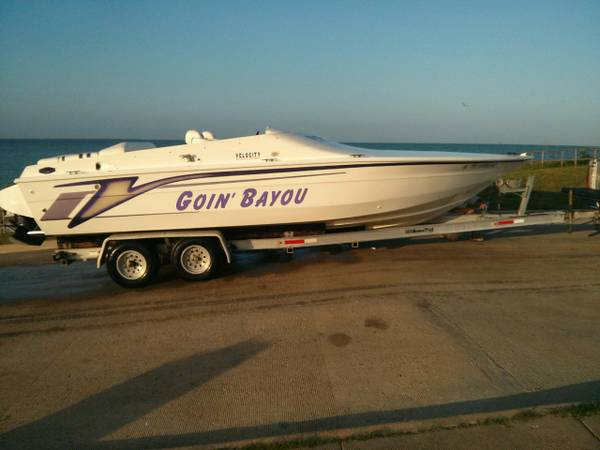 99 velocity power boat -   x0024 14000  league city