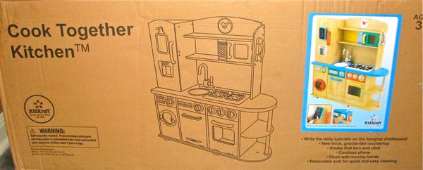 NEW KidKraft Cook Together Kitchen - x0024125 (Lake Charles)