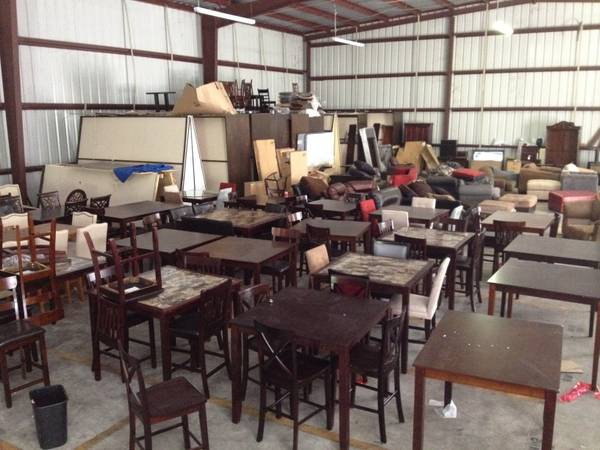 5PC Dining Tables - Warehouse Liquidation - $88 (Orbmik Furniture-Delivery to Lake Ch.)