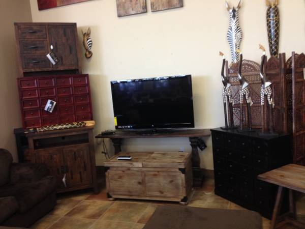 Rustic Furniture - Warehouse Liquidation - $128 (Orbmik Furniture-Delivery to Lake Ch.)