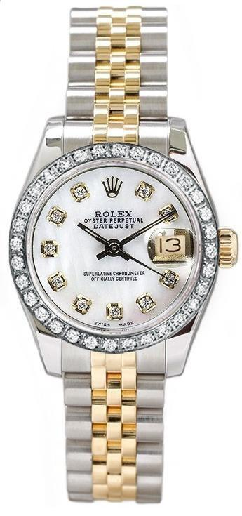 Womens Rolex Watch 100 Authentic Gold Original Box and Papers Designer Viola Mair  Chronograph