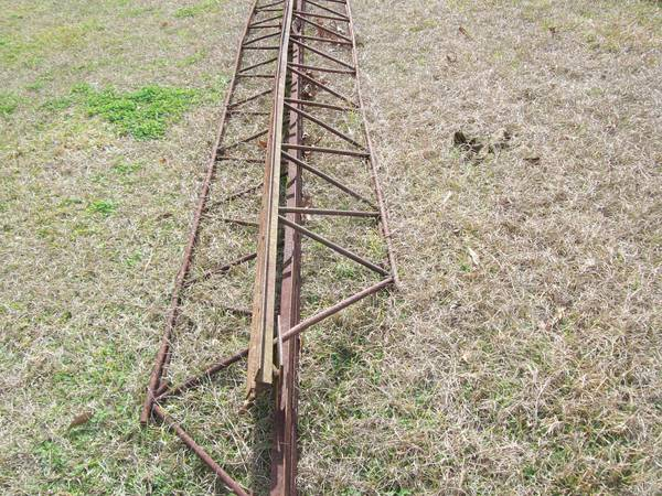 Commercial Iron Trusses - $3 (20221 Hoo Shoo Too Rd)