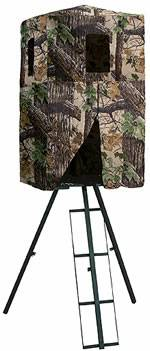 Two Strong Built 12ft. One Man Tripod Deer Stands - x0024350 (lake charles)
