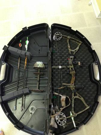 2008 BowTech Guardian with arrows - $400 (Lake Charles, La)