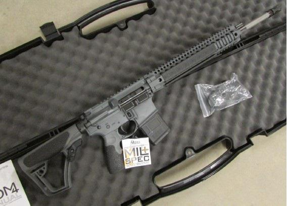100  Daniel Defense MK12 rifle DD 5 56  223 18 Tornado