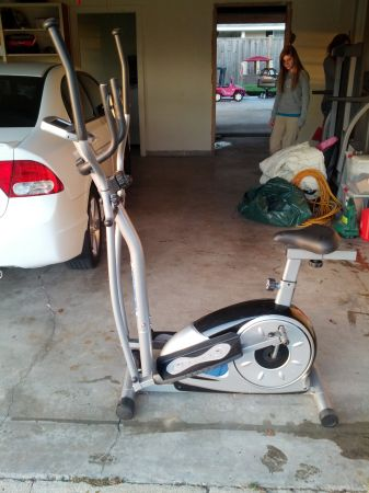 Body Ch BRM3600 Stride Cycle (Elliptical and Excerise Bike) - $100 (Lake Charles)