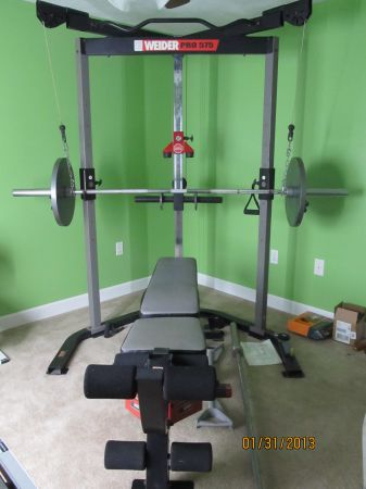 Weight Bench- Weider Pro 575 - $500 (Lake Charles)