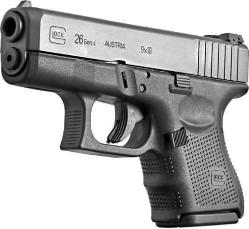 GLOCK G26 9mm Handgun in Black 443 675-7415
