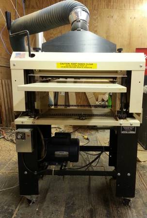 Woodmaster 718 planer and propack - $2000