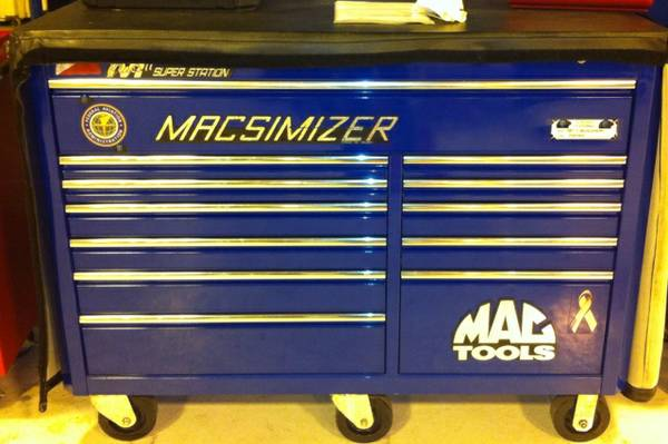 Mac Tool Box (Macsimizer) with cover - $2500 (Lake Charles,La)