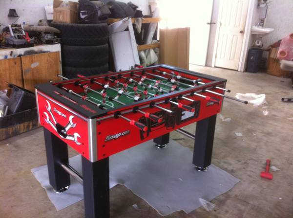 Snap on foosball table limited edition - $350 (Lake Charles )