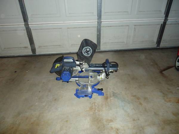 Kobalt Miter Saw 10blade, dual swivel, laser guided, 15 120 volt - $250 (Moss Bluff)
