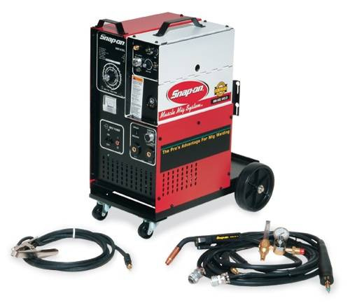 snap on mig welder espotted