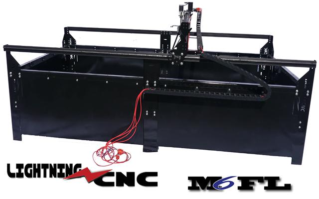 3 999  CNC Plasma Router Tables - 3 axis by Lightning CNC
