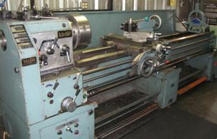 9 800  Nice Victor Lathe 20 x 80 Good Shape