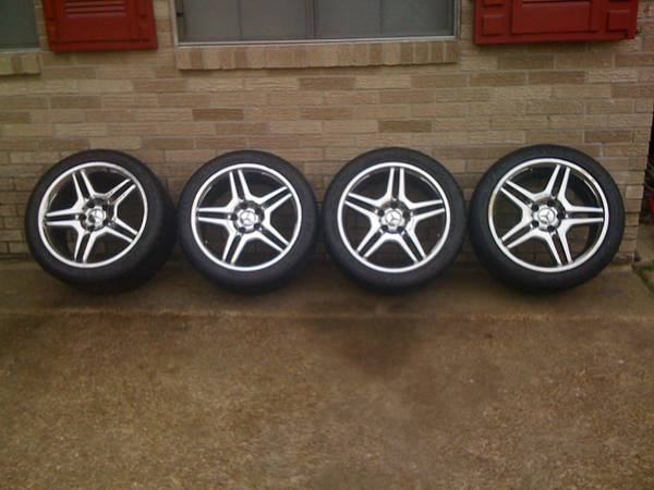 18 MERCEDES AMG WHEELS - $650 (SW LAKE CHARLES)