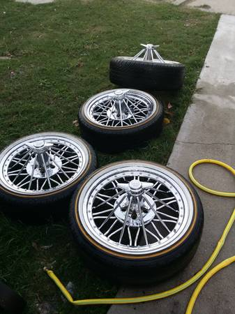 20 inch swangas with vogue tires - $2100 (Sulphur Louisiana)