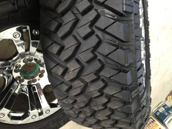 Ford f150 brand new 20 inch XD monster rims and nitto trail grappler t - $1900 (houston)