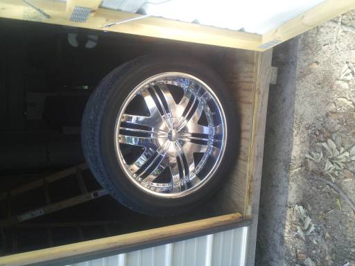 22 inch rims and tires - $800 (deridder la)