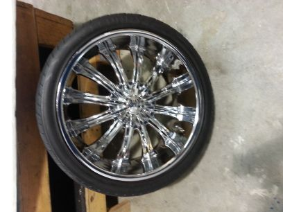 24 inch Bentchi rims for sale - $1000 (Lake Charles)