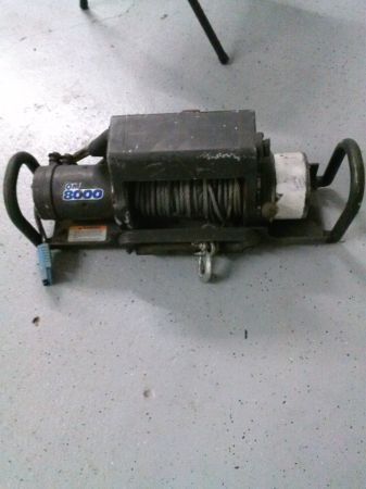 Ramsey QM 8000 Winch - $600 (lake charles )