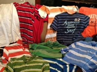 20  boys shirts in great condition size large only a couple XL  -   x0024 40  S  Lake Charles