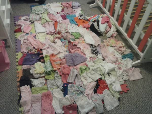 0-3 month BABY GIRL clothes -   x0024 60  Lake Charles