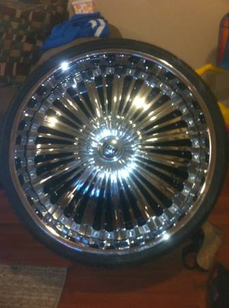 24 inch dub Showtime Floaters - $2300 (lake charles)