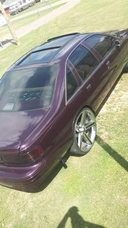 1994 Chevy Caprice. candy paint. grandview sunroof. 26s - $7000 (Lafayette)