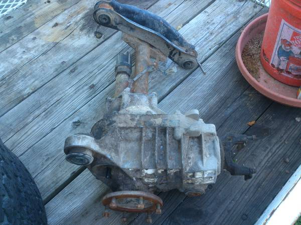 front axle for a 92 to 97 chevy z71 - $150 (lake charles)