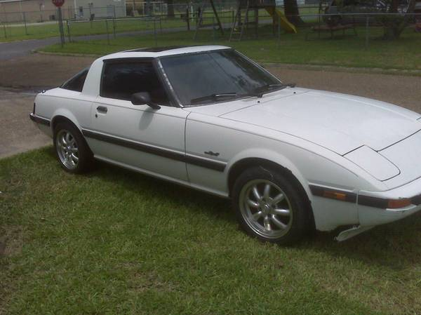 1984 RX-7 GSL for sale - $2000 (Sulphur)