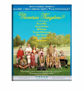 Moonrise Kingdom Blu Ray  amp  DVD Set -   x0024 5