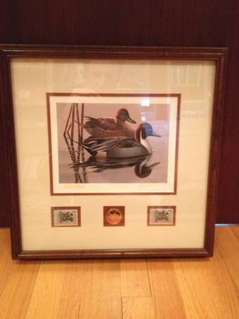 FEDERAL DUCK PRINT  STAMP  amp  MEDALLION COLLECTION -   x0024 2200  NORTH HOUSTON