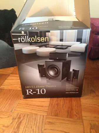 Rolkolsen HD 5.1 Home Theater R-10 - $1000