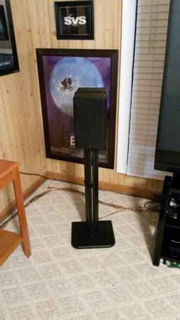 SVS SBS-01 5.0 Home Theater Speaker System - $500 (DeRidder, LA)