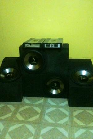Competition DIAMOND system. two 12 subwoofers,  1200 watt - $200 (lake charles)
