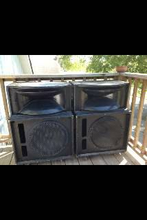Two Peavey SP2 and other stuff for sale - $1 (South LC)