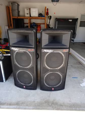 DJ Gear - Peavey Speakers and Amplifier - $900 (Lake Charles)