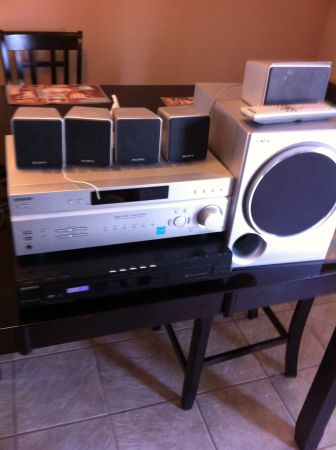Sony Home Theater System - $150 (Crowley)
