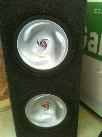 Two 10 Kenwood Subs in box - $100 (sulphur)