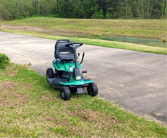Riding Lawn Mower Weedeater One(WE261) - $200 (South Lake Charles)